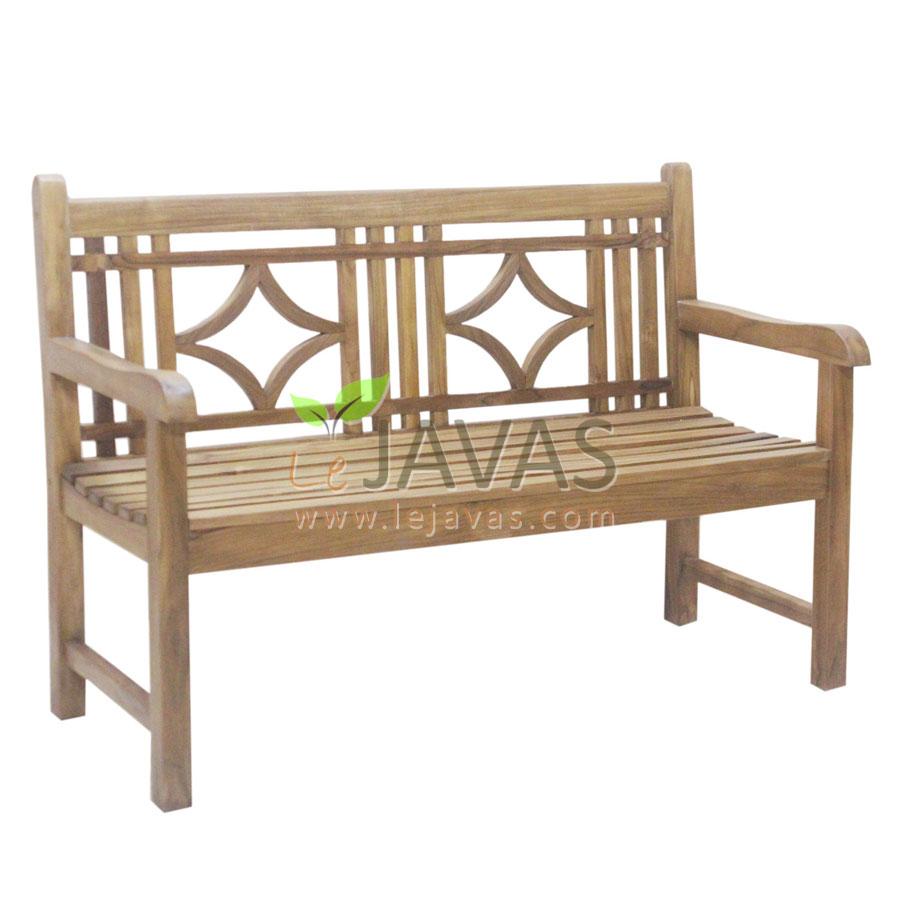 Teak Garden Denver Bench 2 Seater