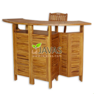 Teak Outdoor Small Bar Table MOXT 026