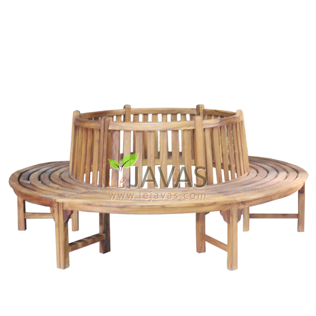 Teak patio round tree bench le javas furniture patio Circular tree bench