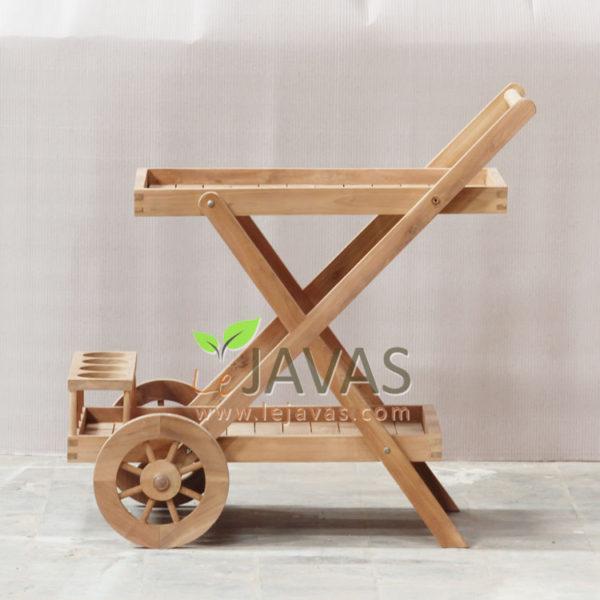 Jepara Teak Garden Adskhan Trolley MOTR 004