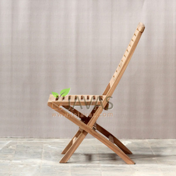 Jepara Teak Garden Little Hampton Folding Chair MOFC 009_2