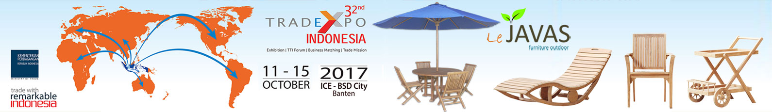 Trade Expo Indonesia 11-15 Oct 2017