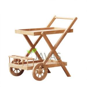 Teak Garden Adskhan Trolley