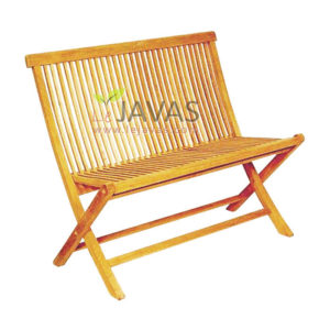 Teak Garden Java Bench Folding MOFB 001