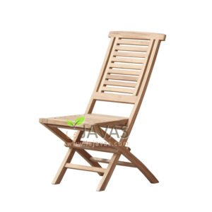 Teak Garden Little Hampton Folding Chair