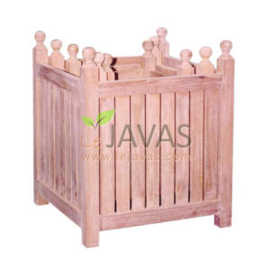 Teak Garden Planter Box Set MOPL 002