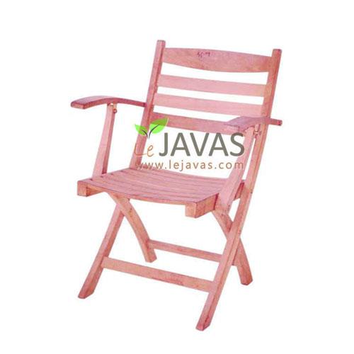 Teak Garden Sunny Folding Arm Chair MOFC 012 A