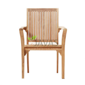 Teak Outdoor Asker Stacking Chair