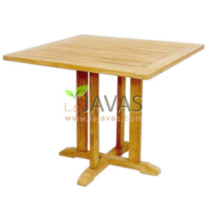 Teak Outdoor Balmoral Rectanguler Table MOXT 010