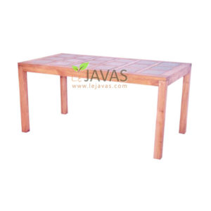 Teak Outdoor Ceramic Table MOXT 020
