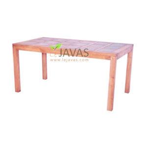 Teak Outdoor Ceramic Table MOXT 020