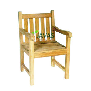 Teak Outdoor Classic Armchair Knock Down MOXC 001 KD