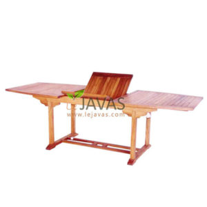 Teak Outdoor Curve Extending Table MOET 007
