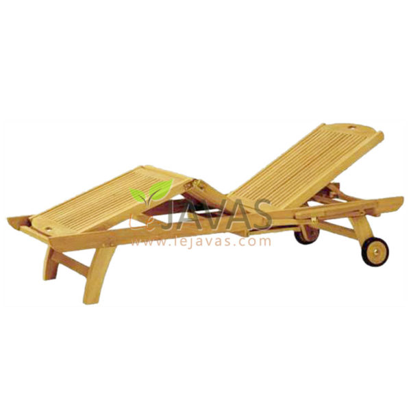 Teak Outdoor Marie Clair Lounger MOLG 003