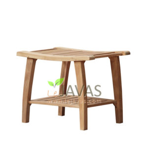 Teak Patio Adem Stool MOSL 002
