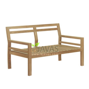 Teak Patio Asker Sofa 2 Seater MOSF 002