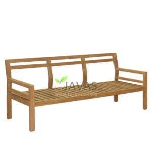 Teak Patio Asker Sofa 3 Seater MOSF 001