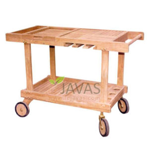 Teak Patio Classic Trolley Set MOTR 003
