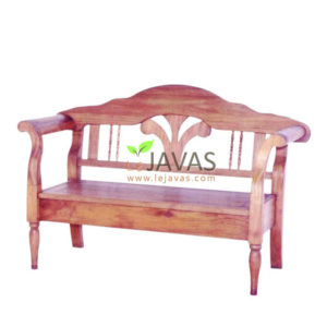Teak Patio Lotus Bench 2 Seater MOBN 012 2S