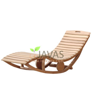 Teak Patio Outdoor Altan Lounger MOLG 015