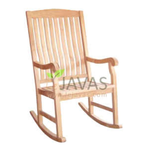 Teak Patio Rocking Armchair