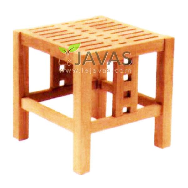 Teak Garden Butcher Tea Table MOXT 007