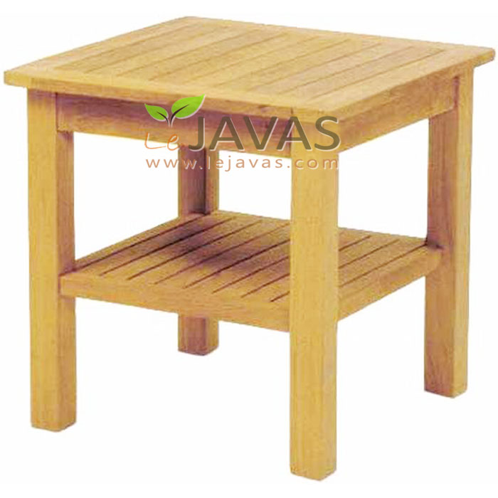 Teak outdoor melton coffee table le javas furniture jepara for Outdoor furniture zimbabwe