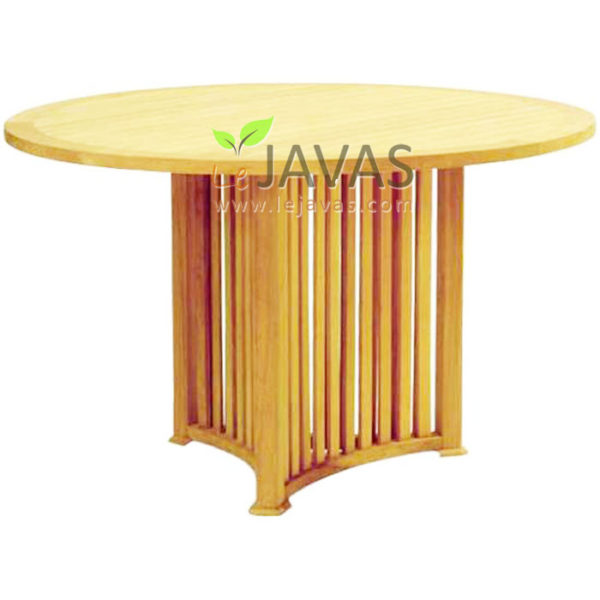 Teak Garden Mercy Round Table MOXT 004