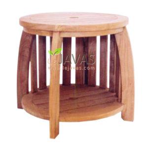 Teak Garden Mini Round Table MOXT 025