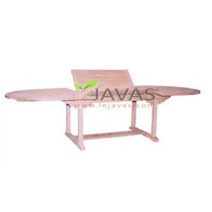 Teak Garden Ocean Oval Extended Table 240 MOET 004 W 240