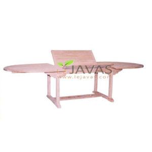 Teak Garden Ocean Oval Extended Table 300 MOET 004 W 300
