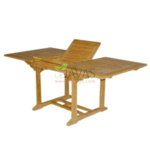 Teak Garden Ocean Recta Extended Table 180 MOET 006 W 180