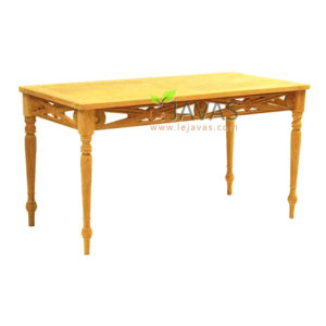 Teak Garden Raffless Dining Table MOXT 008