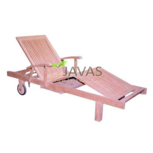 Teak Outdoor Beauty Lounger MOLG 005