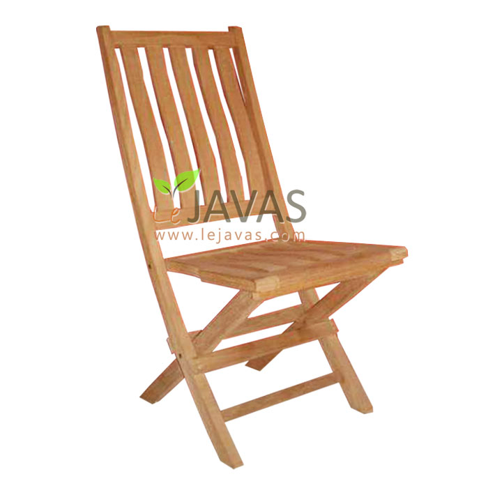 Teak Outdoor Brigton Folding Chair Le Javas Garden Furniture