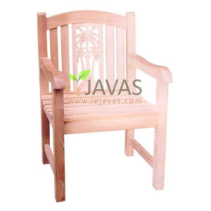 Teak Outdoor Britania Palm Arm Chair MOXC 018