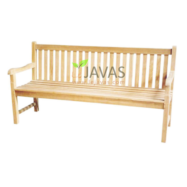 Teak Outdoor Classic Bench 3 Seater MOBN 004 3S