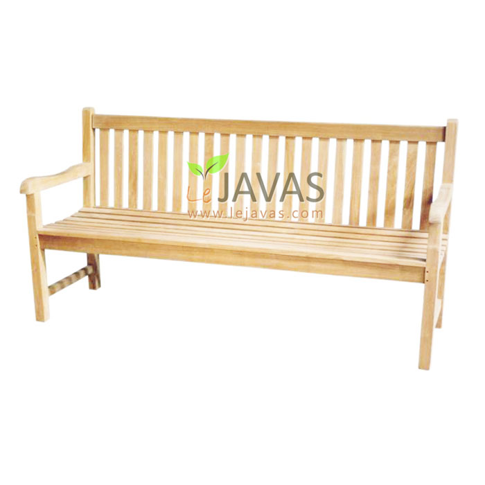Teak Outdoor Classic Bench 3 Seater