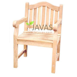 Teak Outdoor Curve Arm Chair MOXC 016
