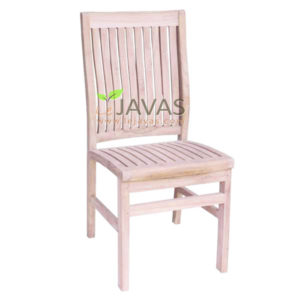 Teak Outdoor Curve Stacking Chair MOXC 010 B