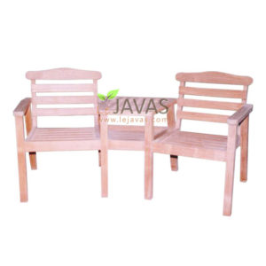 Teak Outdoor Dual Arm Chair With Picnic Table MOBN 003 D