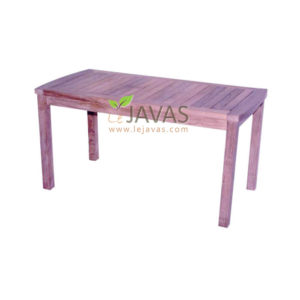 Teak Outdoor Fixed Table 024 MOXT 024