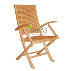 Teak Outdoor Jadmul Folding Chair MOFC 005
