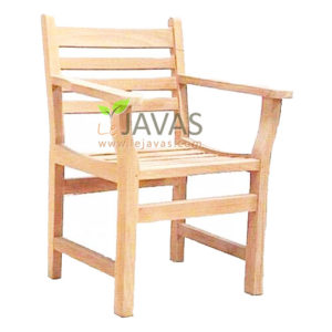 Teak Outdoor Java Arm Chair MOXC 008