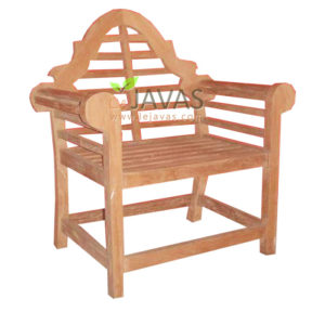 Teak Outdoor Malborough Arm Chair Knock Down MOXC 002 KD