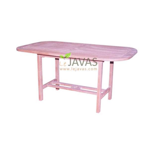 Teak Outdoor Oval Fixed Table MOXT 023