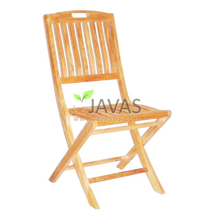 Teak Outdoor Remy Folding Chair Le Javas Furniture Jepara