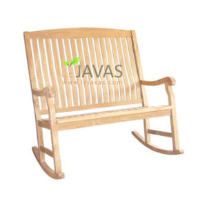Teak Outdoor Rocking Bench 2 Seater MOBN 020 2S