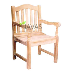 Teak Outdoor Waveney Arm Chair MOXC 012 A