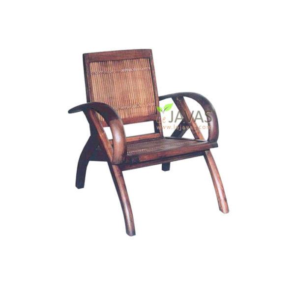 Teak Indoor Sedan Bamboo Chair